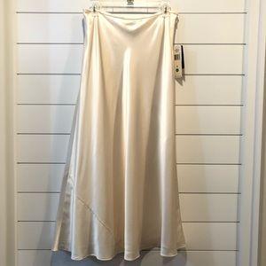 Ralph Lauren 100% Silk Skirt! Brand New W/Tags!